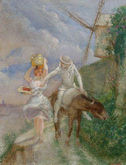 Adolphe-Léon WILLETTE (1857-1926)