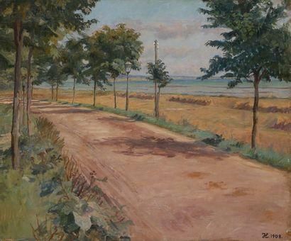 Johannes LARSEN [danois] (1867-1961)