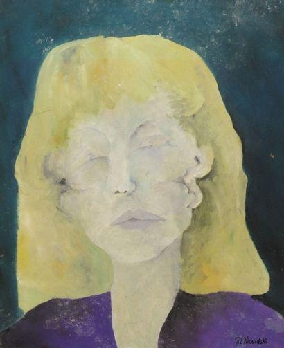 Robert NICOÏDSKI (1931-2001){CR}Portrait...