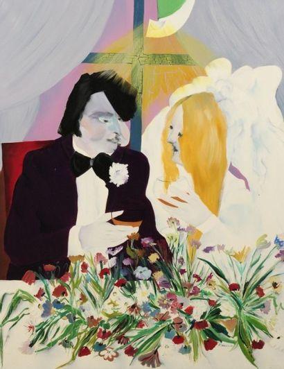 Robert NICOÏDSKI (1931-2001){CR}Le Mariage{CR}Huile...