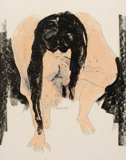 Robert NICOÏDSKI (1931-2001){CR}Femme nu...