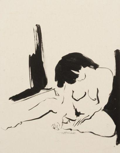 Robert NICOÏDSKI (1931-2001){CR}Femme nue...