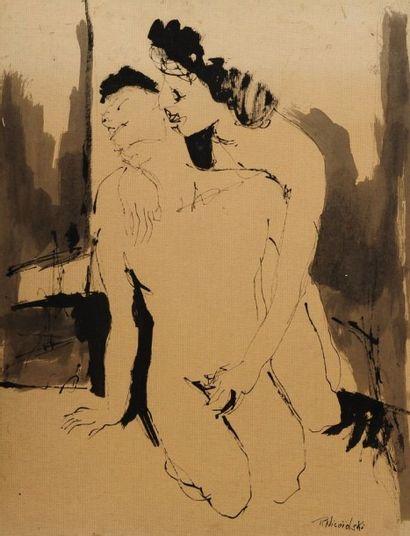 Robert NICOÏDSKI (1931-2001){CR}Le Couple{CR}2...