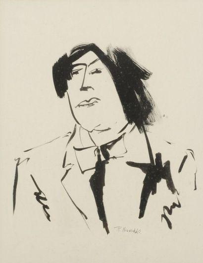 Robert NICOÏDSKI (1931-2001){CR}Portraits{CR}1...