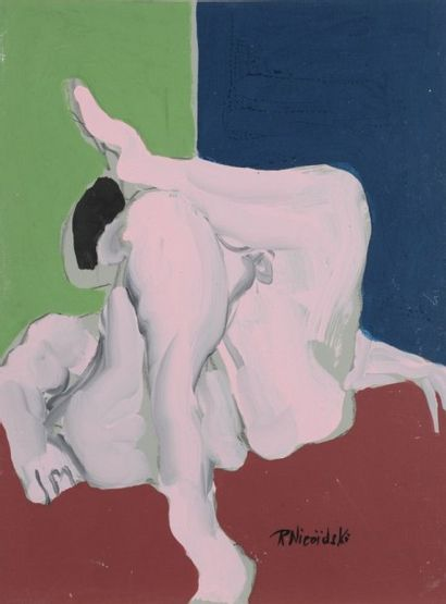 Robert NICOÏDSKI (1931-2001){CR}Nu les jambes...