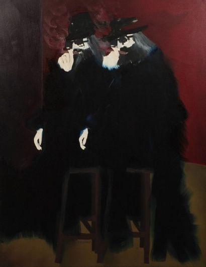 Robert NICOÏDSKI (1931-2001){CR}Deux hommes...