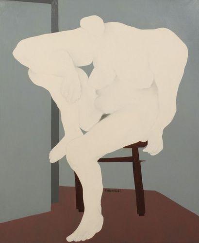 Robert NICOÏDSKI (1931-2001){CR}Nu blanc...