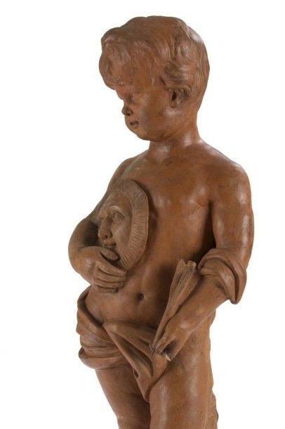 Attribué à ROUCOURT (actif en Flandres dans la deuxième moitié du XVIIIe siècle)...
