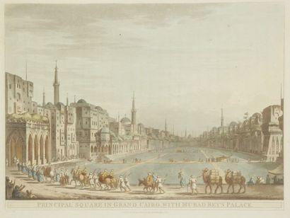 D'après Luigi MAYER (1755-1803), fin du XVIIIe siècle.