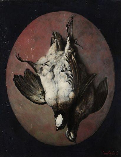 Pierre FERIOLI (né en 1920) Perdrix Huile sur toile. Signée en bas à droite. 65 x...
