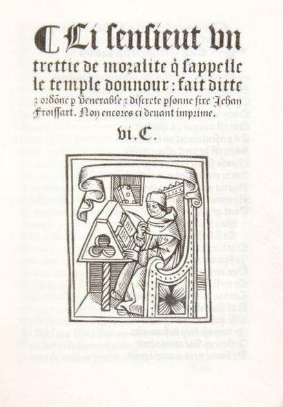 FROISSART (Jean)