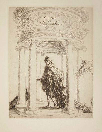 PERRAULT (Charles) Contes. La Belle au Bois Dormant - Cendrillon - Barbe-Bleue -...