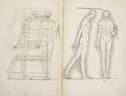 DURER (Albrecht) De Symetria partium in rectis formis hu(m)anorum corporum. Nuremberg:in...