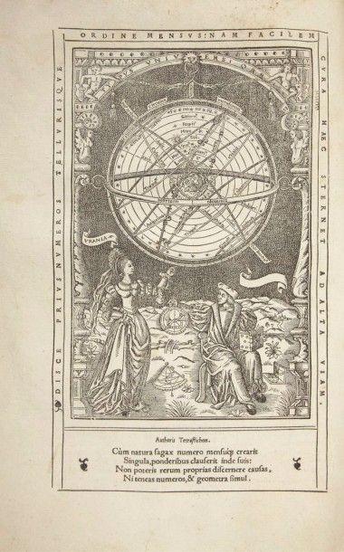 FINE (Oronce) Protomathesis:Opus varium, ac scitu non minus utile quàm iucundum,...