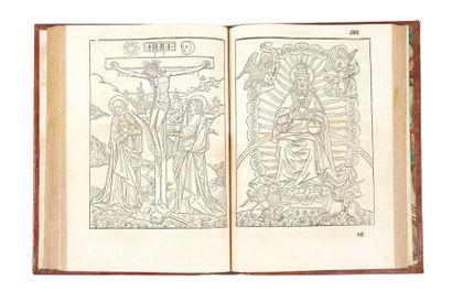 [MISSEL] Missale ecclesie Nemensis (sic) accurate castigatum. In-folio, (10 ff.),...