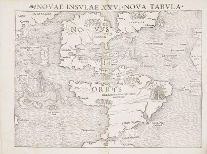 PTOLEMEE (Claude) Geographia universalis, vetus et nova, complectens. Bâle:Heinrich...