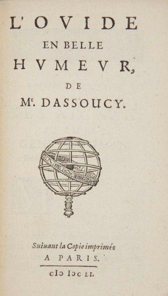 ASSOUCY (Charles Coypeau d') L'Ovide en belle humeur. Suivant la Copie imprimée à...