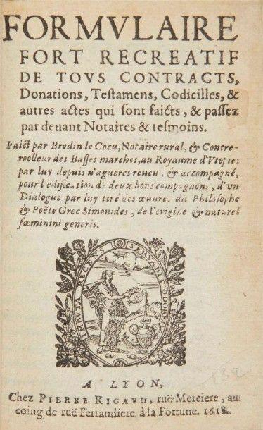 [DU TRONCY (Benoît)]