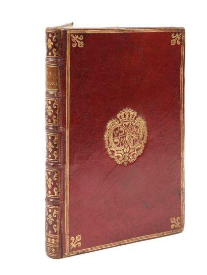 GOLDONI (Carlo) Le Bourru bienfaisant, comédie? Paris:Veuve Duchesne, 1771. ? In-8,...
