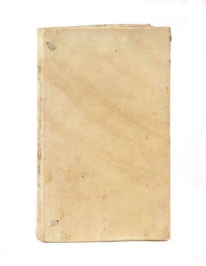 RACINE (Jean) Bajazet. Tragédie. Se vend pour l'auteur à Paris:Pierre Le Monnier,...