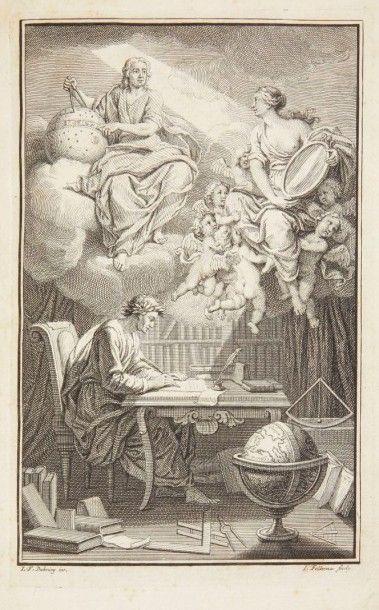 VOLTAIRE Élémens de la philosophie de Neuton, Mis à la portée de tout le monde. Amsterdam:Étienne...