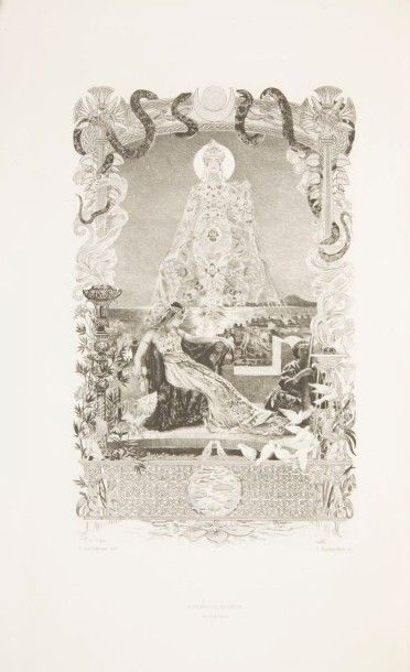 FLAUBERT (Gustave) Salammbô. Préface de Léon Hennique. Paris:A. Ferroud, 1900. ?...