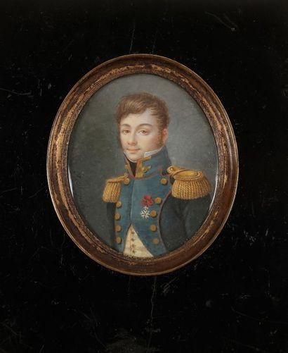 J. DESPRES. École française du début du XIXe siècle
