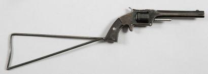 Revolver belge du type Smith & Wesson n°2,...