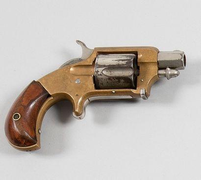 Revolver Whitney, cinq coups, calibre 38....