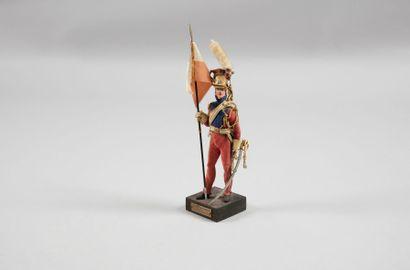 Figurine Marcel RIFFET Maréchal des Logis...