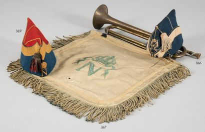 Bonnet de police de lancier de la Garde impériale...