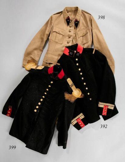 Vareuse de capitaine du 129e régiment d'infanterie...