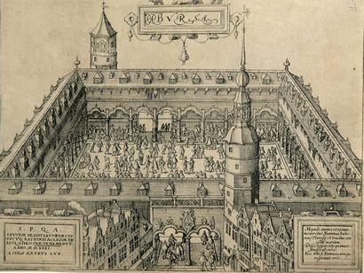 Amsterdam - Bourse Vue de la Bourse d'Amsterdam...