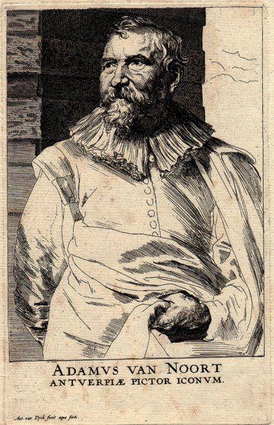 Anton van Dyck Adam van Noort.