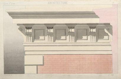 Lycée Saint-Louis, Paris G. Joly, architecte....