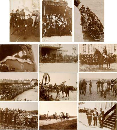 Voyage du Tsar en France 1901. Album de la...
