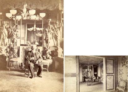 Portrait de Victor Hugo dans sa maison de...