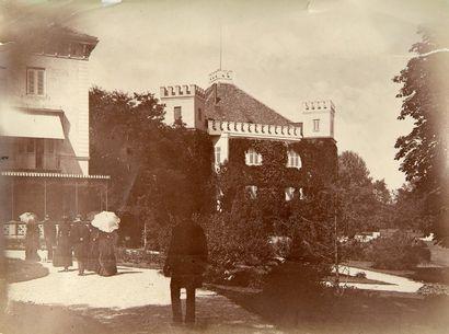 Comte de Paris, 1886. Possenhofen, la Duchesse...