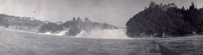 Bâle. Neuhausen. Zurich. Août 1904. Via Mala....