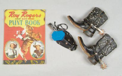 Ensemble Roy Rogers pour enfant Album de...