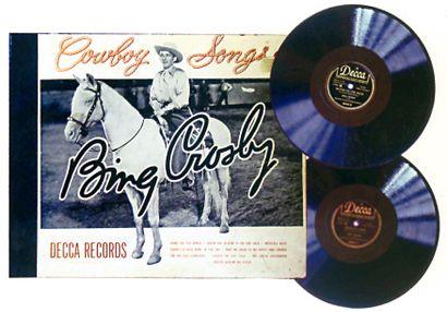 Album de quatre disques 78 tours. Bing Crosby...