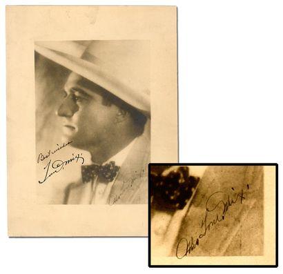 Photogravure de Tom Mix. Avec un autographe...