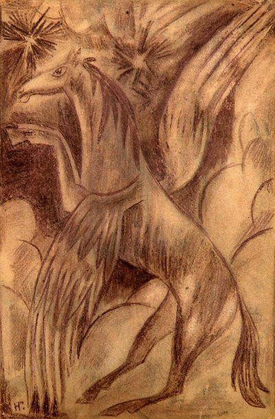 Nathalia Sergeivna GONTChAROVA (Nagaïevo, 1881 - Paris, 1962)
