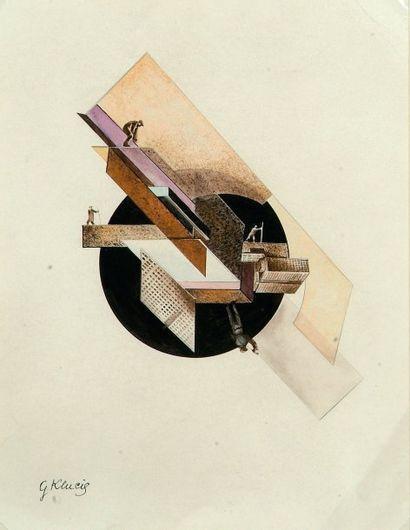 Gustav Gustavovich KLUCIS ou KLUTSIS (Volmar, 1895-1942 ou 1944)