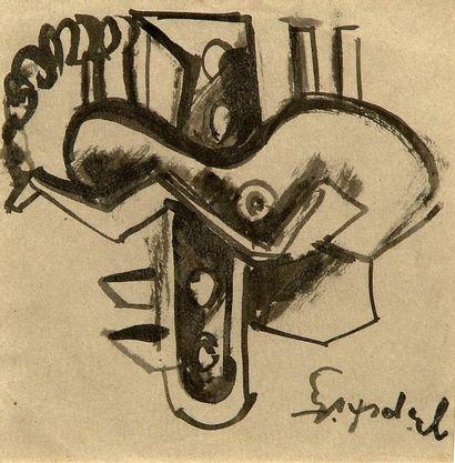 Jacques LIPChITZ (Druskieniki, 1891 - Capri, 1973)