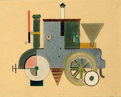 henrik NEUGEBOREN dit Henri NOUVEAU (Brasov-Kronstadt, 1901 - Paris, 1959)