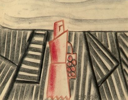 Ernest ENGEL-PAK ou ENGEL-ROSIER (Spa, 1885-1965)