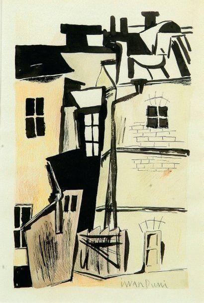 Ivan Albertovich PUNI ou Jean POUGNY (Kuokkala, 1892 - Paris, 1956)