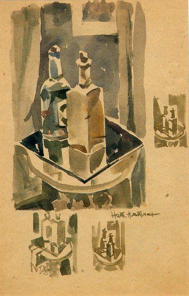 Nathan Isaevich ALTMAN (Vinnitsa, 1889 - Leningrad, 1970)