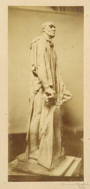 Bourgeois de Calais d'Auguste Rodin, c. 1890....
